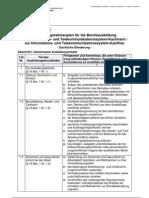 IT System Kaufmann Ausbildungsrahmenplan