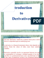 Introduction to Derivatives 2003
