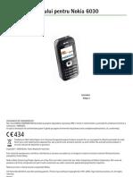 Nokia 6030 - Manual de Utilizare