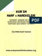 Kur'an Harf ve Harekeleri (elif_ba )  Süleyman Hilmi Tunahan