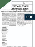 Pirellone, il giorno delle proteste contro la legge ammazza-parchi (la Repubblica)