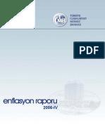 TCMB Enflasyon Raporu 2006 IV