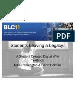 blc11 studentsleavinglegacy