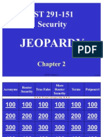 CCNA Security Chapter 2- Jeopardy