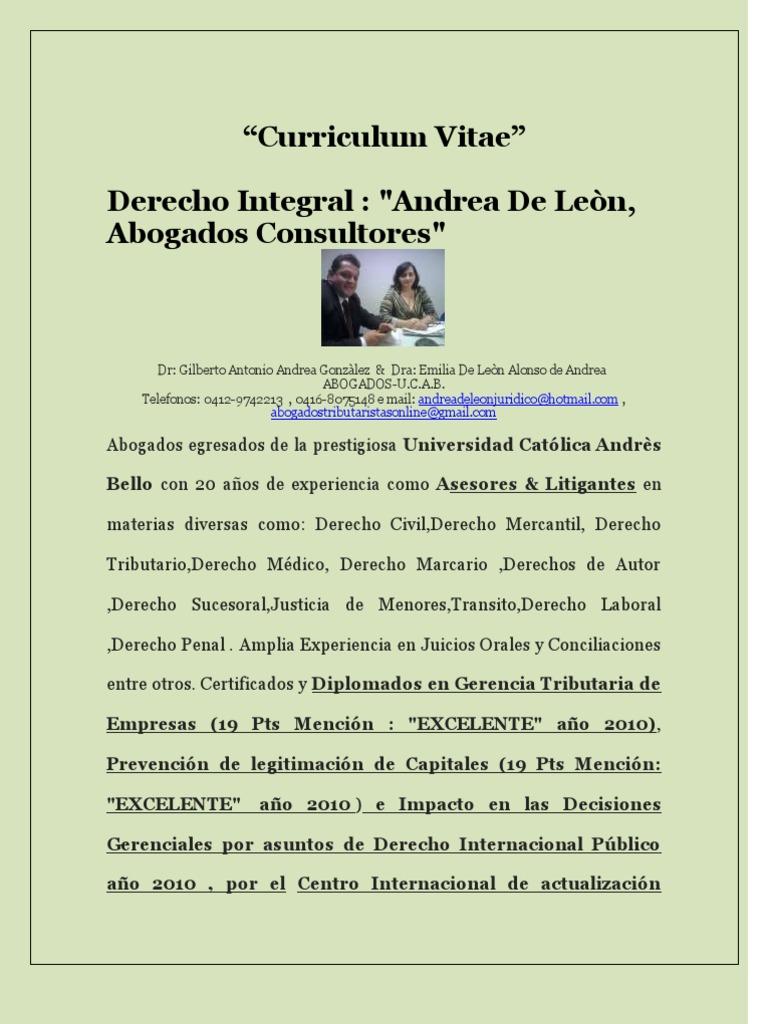 Encantador Mejor Curriculum Vitae Abogado Motivo - Ejemplo De ...