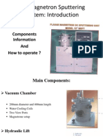 PPT_DC Sputtering Unit_Bhanu Prakash