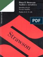 Analisis y Metafisica_Peter Strawson