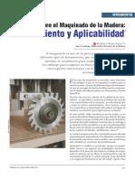 Teorias Sobre El Maquinado de La MADERA - Aplicabilidad -6p
