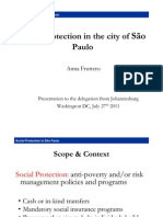Social Protection in Sao Paulo - July 27