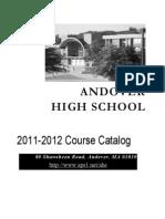 Course Catalog 2011-2012