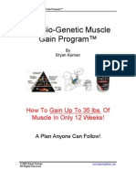 The Bio-Genetic Muscle Gain Program