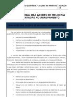 Relatório Final das Acções de Melhoria 2010-2011