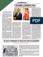 Teodolindo Avendaño y Humberto Torres