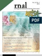 2011 URISA Journal Vol 23 Issue 1