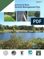 DRAFT Pequonnock River Watershed Management Plan July 2011