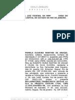 PAMELA OLIVEIRA MARTINS DE ARAÚJO x Projeto Educar - inicial