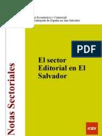 Nota rial El Sector Editorial en El Salvador