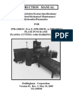 Fpb1500c,d,e 500e or 1800a,b Manual