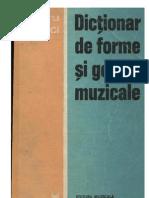Bughici - Dictionar de Forme Si Genuri Muzicale