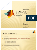 Matlab Seminar