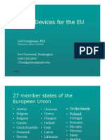 Medical Devices for the EU 070910