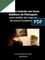 Gêneros textuais nos livros didáticos de Português (Santos) - 2011