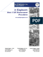 TAB Procedures From an Engineering Firm