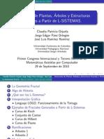 Generación de Plantas, Árboles y Estructuras  Fractales a partir de L-SISTEMAS.