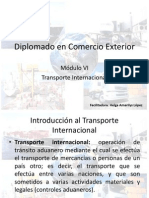 Presentación Transporte Internacional Parte 1