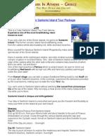 3 Days Santorini Island Tour Package