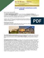 Athens Private City Tour With Acropolis & Cape Sounion