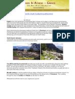 Private Tour to Delphi & Arachova