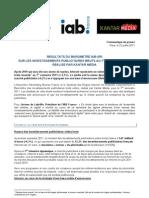 Baromètre internet IAB-SRI avec Kantar Media_juillet 2011