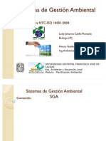 SGA ISO 14001