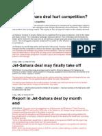 Jet-sahara Economic Times
