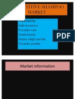 Competitive Shampoo Market