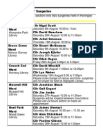 What's on in Haringey Libraries August 2011