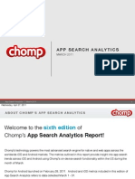App Search Analytics March 2011