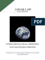 International Legal, Mediation and Negotiation