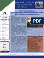 Boletín Informativo Nº 61