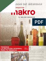 Catalogo de Bebidas Makro