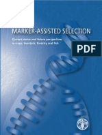 Marker-Assisted Selection. Current Status and Future Perspectives in Crops, Livestock, Forestry and Fish. FAO
