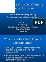 Competitiveness and Growth in Brazilian Cities