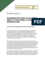Ian Parker Conversation With Slavoj Zizek