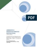 Apostila - Ambiente e Desenv Sustentável - Final