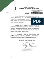 AÇÓRDÃO, AGRAVO REGIMENTAL - MARIA EDNA