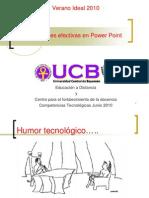 Presentaciones Efectivas en Power Point Verano Ideal