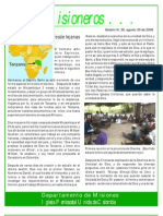 BOLETIN 39 - Noticas de Tanzania - SEPT 2008