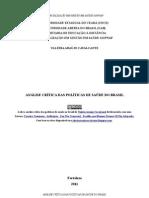 Análise Crítica das Políticas de Saúde do Brasil