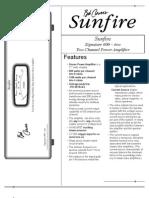 Sun Fire Two Product Sheet